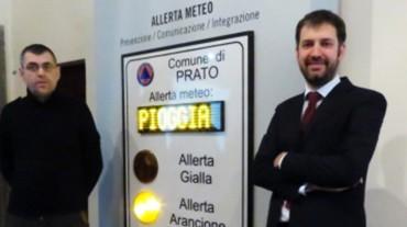 ILES fornisce i pannelli di allerta meteo al comune di Prato