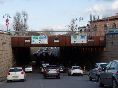 Controllo allagamento sottopasso Viale Strozzi - Firenze