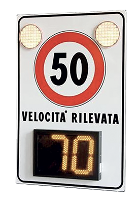Velocheck - segnaletica luminosa