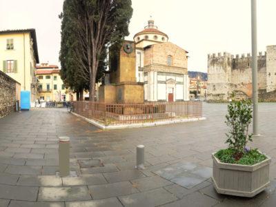 Dissuasori a scomparsa Piazza delle Carceri - Prato
