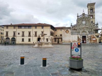 Dissuasori a scomparsa Piazza del Duomo - Prato